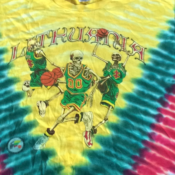 Fruit Of The Loom Shirts Vintage Rare 2000 Grateful Dead Lithuania